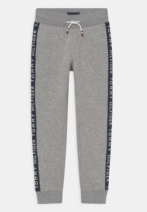 GLOW IN THE DARK - Teplákové kalhoty - light grey heather
