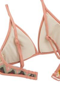 OYSHO - GEHÄKELTES TRIANGEL-BIKINIOBERTEIL 30712148 - Bikini top - multi-coloured - 5