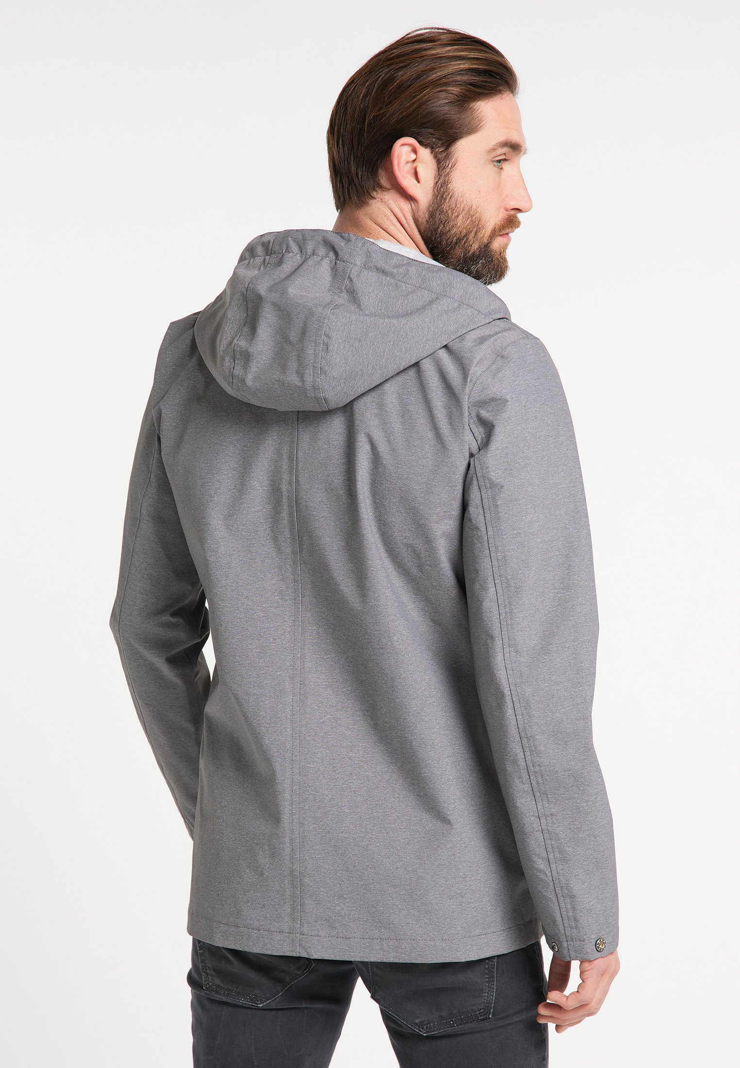 Schmuddelwedda Regenjacke / Wasserabweisende Jacke - Gray Melange