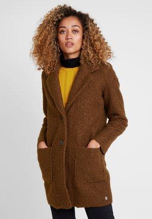 DOUBLEFACE COAT - Kort kåpe / frakk - rich cinnamon/brown