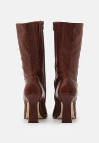 MIISTA - NOOR - High heeled boots - brown - 3