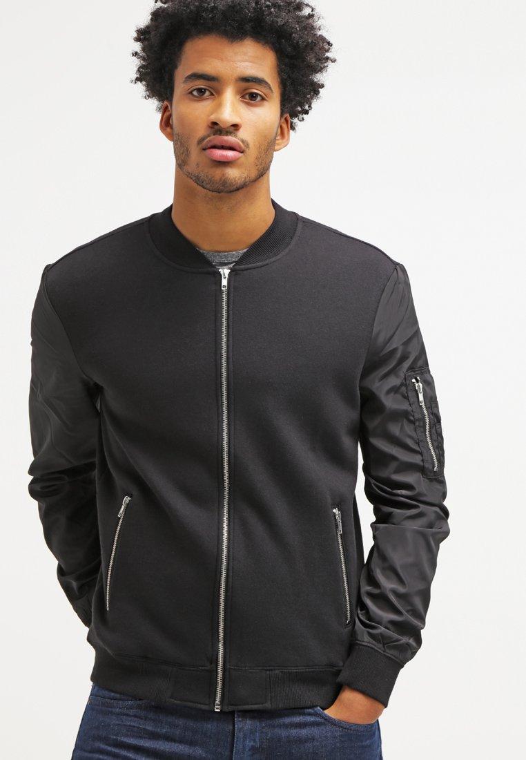 YOURTURN - Zip-up hoodie - black