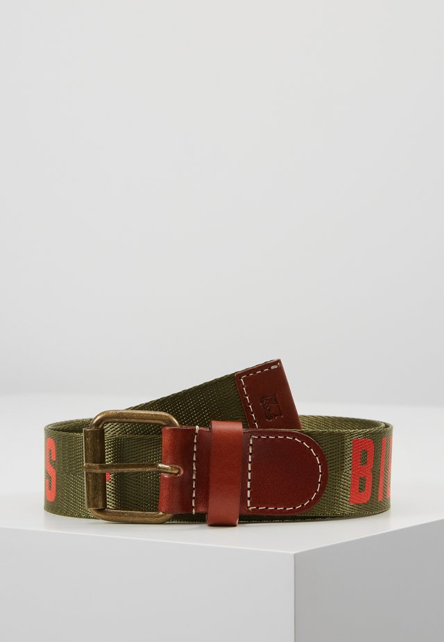 PRINTED BELT - Belte - military