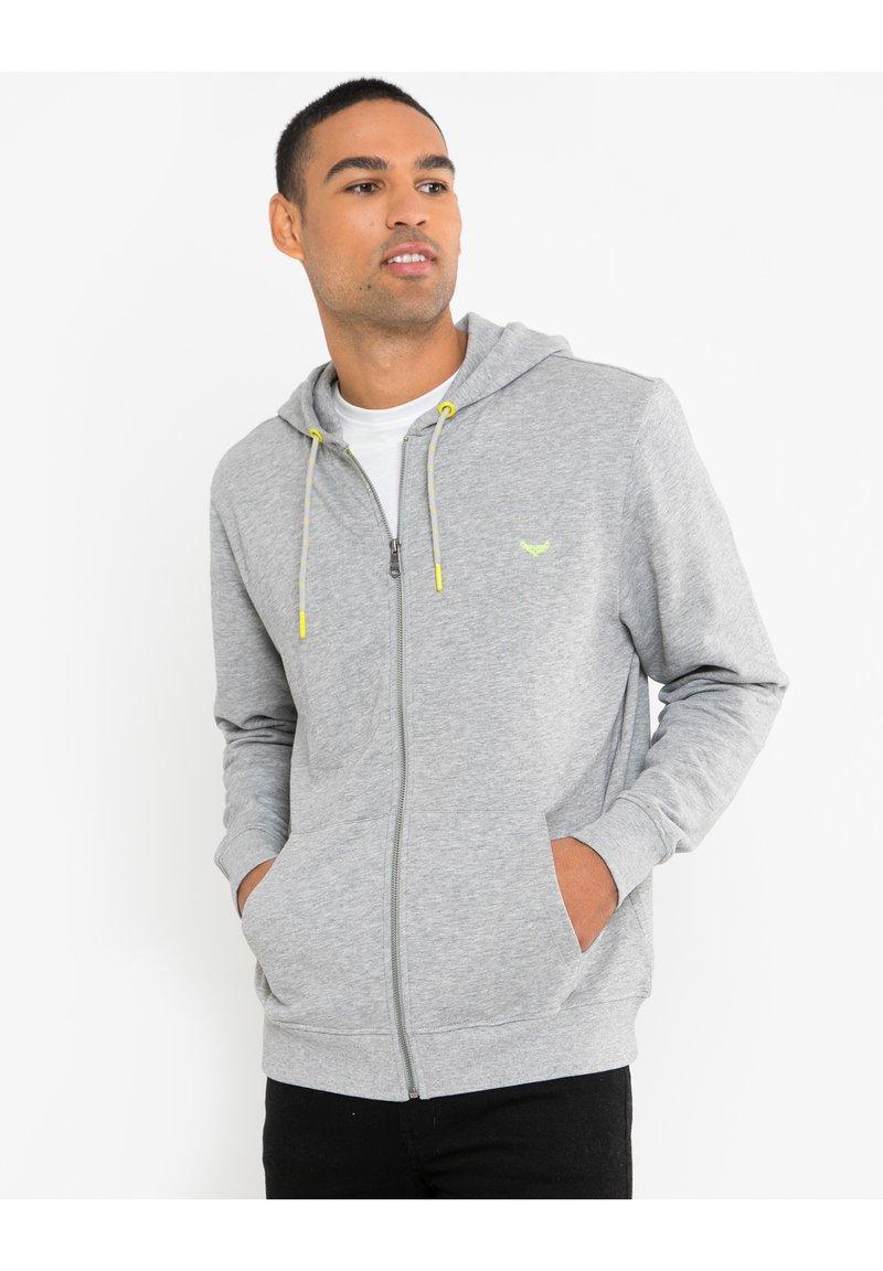 Threadbare - TANGERINE - Zip-up hoodie - grau