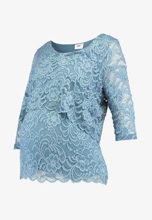 MLMIVANE JUNE - Camiseta de manga larga - aegean blue