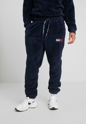 PLUSH JOG PANT - Tracksuit bottoms - black iris