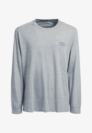 Long sleeved top - hellgrau