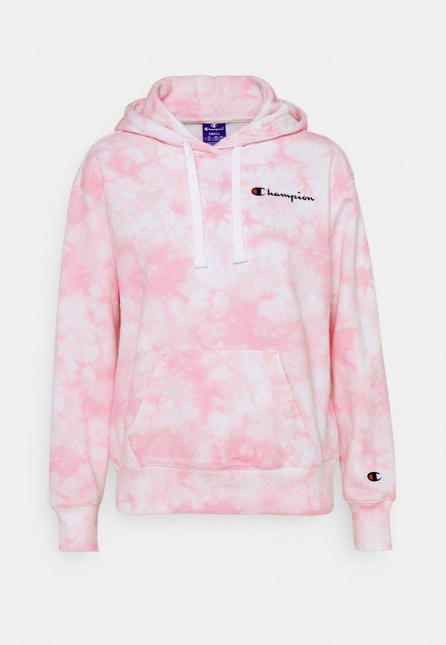 HOODED - Collegepaita - pink