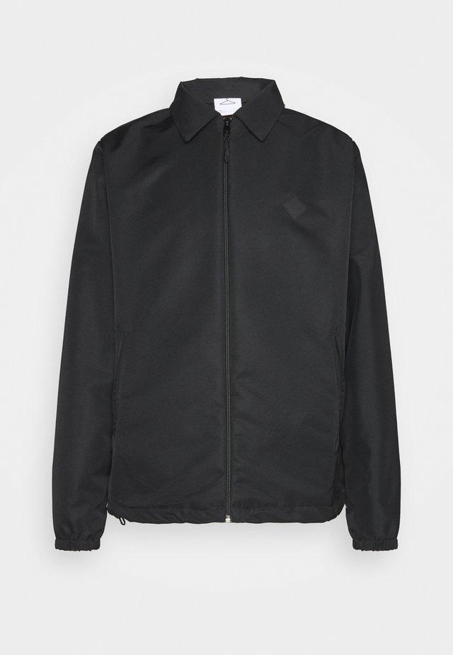 HANGER COACH JACKET - Summer jacket - black