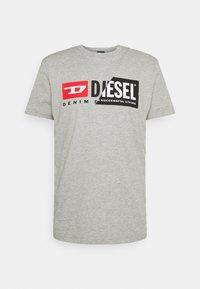 Diesel - DIEGO CUTY - Printtipaita - grey - 5