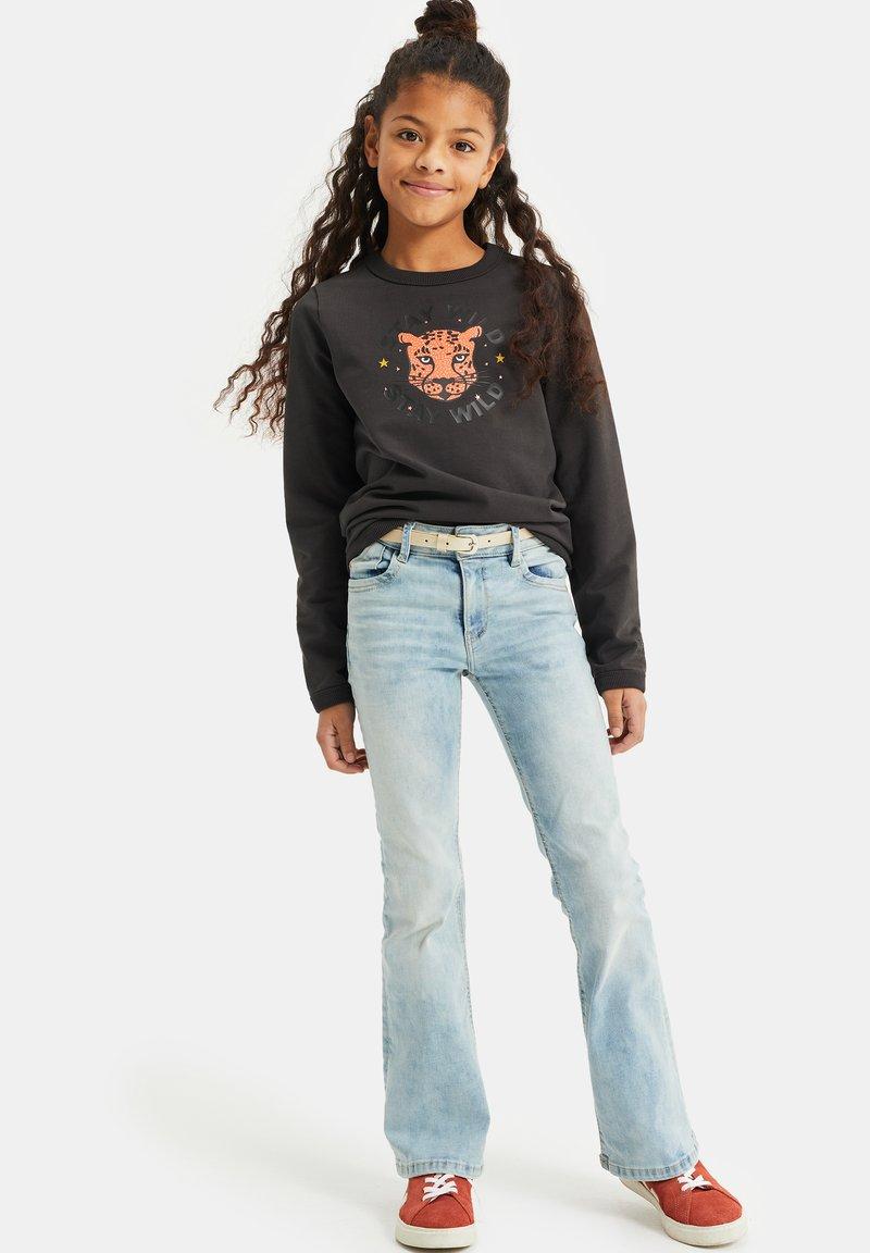 WE Fashion - NORMAL FIT - Sweatshirt - black