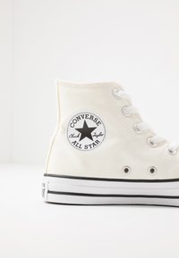 Converse - CHUCK TAYLOR ALL STAR  - Höga sneakers - egret/black/white - 5
