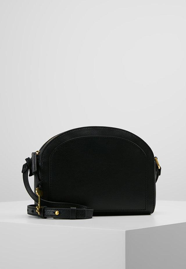 CHELSEA - Taška spříčným popruhem - black