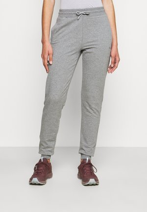 WOMAN LONG PANT - Teplákové kalhoty - fumo melange