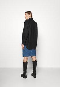 ARKET - Summer jacket - black dark - 2