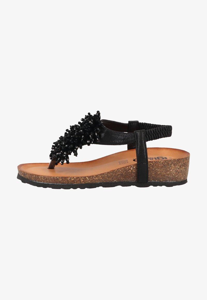IGI&CO - T-bar sandals - nero