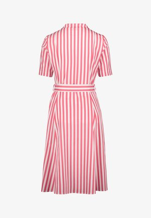 VERA MONT  - Shirt dress - white/red