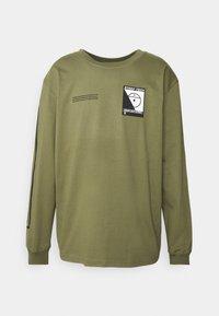 STEEP TECH TEE UNISEX - Långärmad tröja - burnt olive green