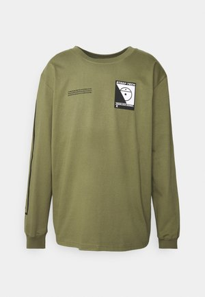 STEEP TECH TEE UNISEX - Top s dlouhým rukávem - burnt olive green