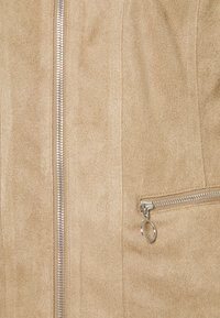 Freequent - Faux leather jacket - beige sand - 2