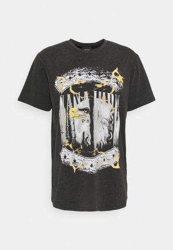 BRIGHT - Print T-shirt - vintage black