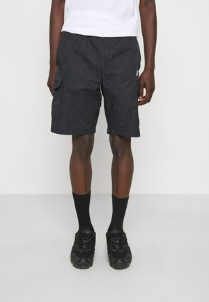 UTILITY SHORT - Shorts - black/(white)