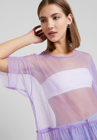 Monki - SILVIA DRESS - Korte jurk - tulle purple - 6