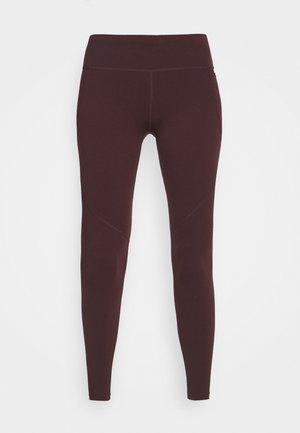 POWER WORKOUT LEGGINGS - Leggings - black cherry purple
