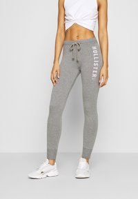 Hollister Co. - TIMELESS - Tracksuit bottoms - medium grey - 0