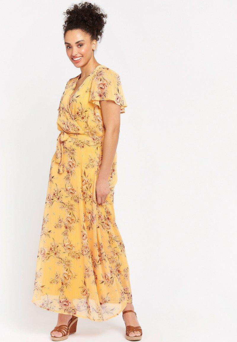 LolaLiza - BUTTERFLY - Maxi dress - yellow