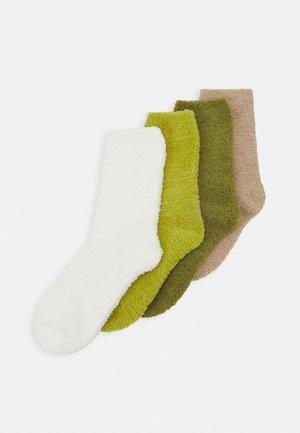 WOMEN COSY SOCKS 4 PACK - Socks - kiwi