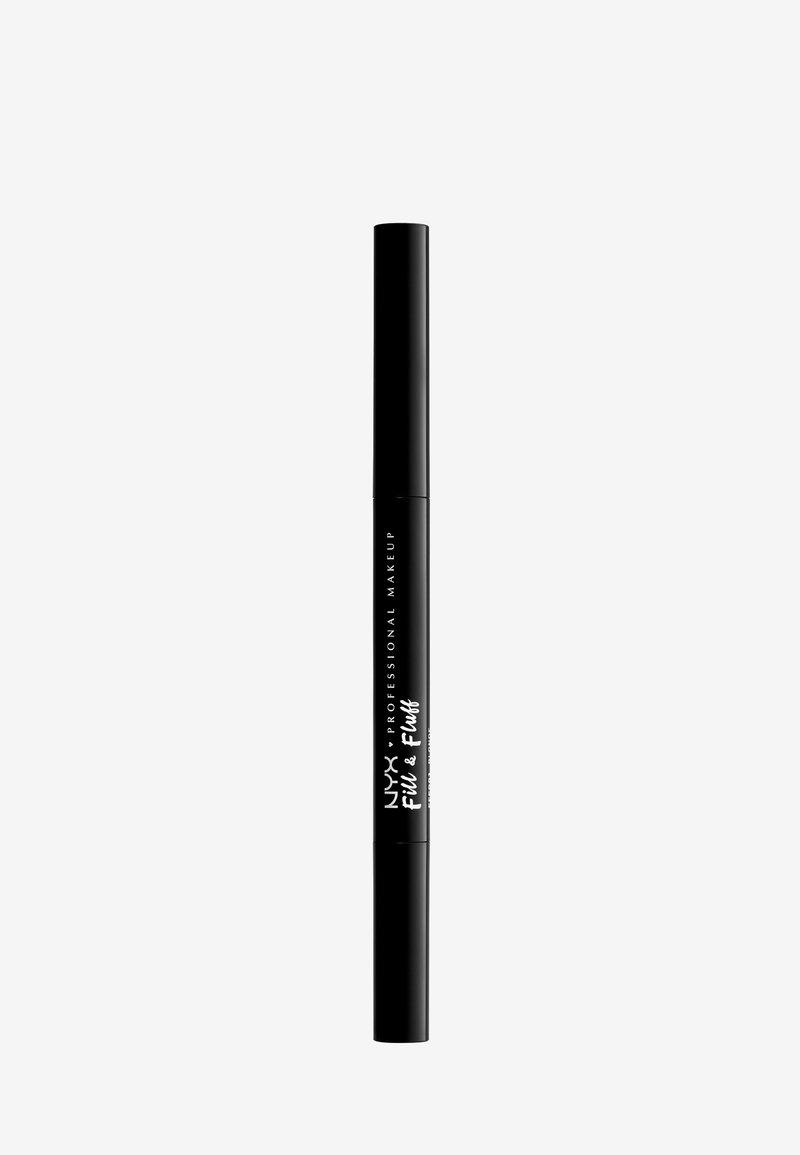 Nyx Professional Makeup - FILL&FLUFF EYEBROW POMADE PENCIL - Eyebrow pencil - blonde