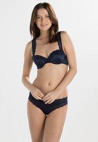 Stella McCartney Lingerie - CLARA WHISPERING - Balconette bra - dark ink blue - 1