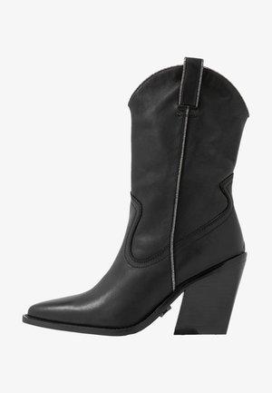 NEW KOLE  - Højhælede støvler - black
