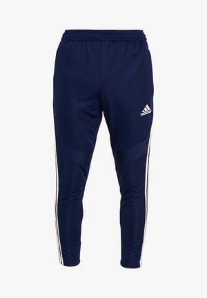 TIRO AEROREADY CLIMACOOL FOOTBALL PANTS - Spodnie treningowe - dark blue/white
