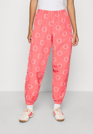 CUFFED PANT - Pantalones deportivos - magic pink/white