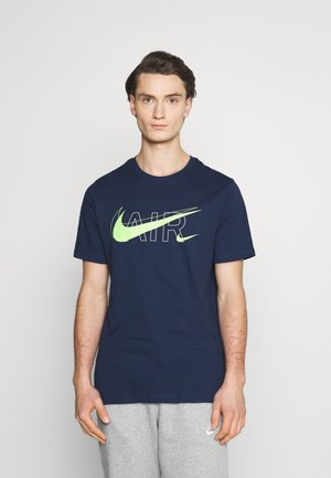 TEE AIR - Print T-shirt - midnight navy