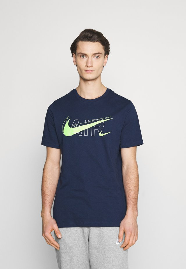 TEE AIR - T-shirt imprimé - midnight navy