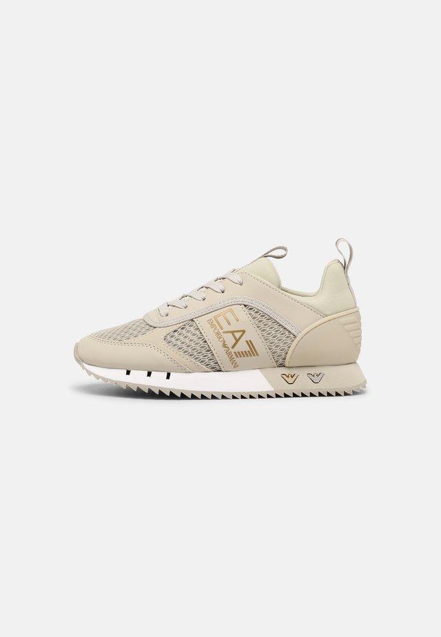 UNISEX - Sneakersy niskie - beige/gold-coloured