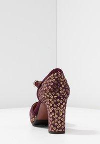 Chie Mihara - IBIS - Escarpins à plateforme - grape - 5