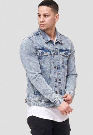 BRYNE - Denim jacket - denim blue