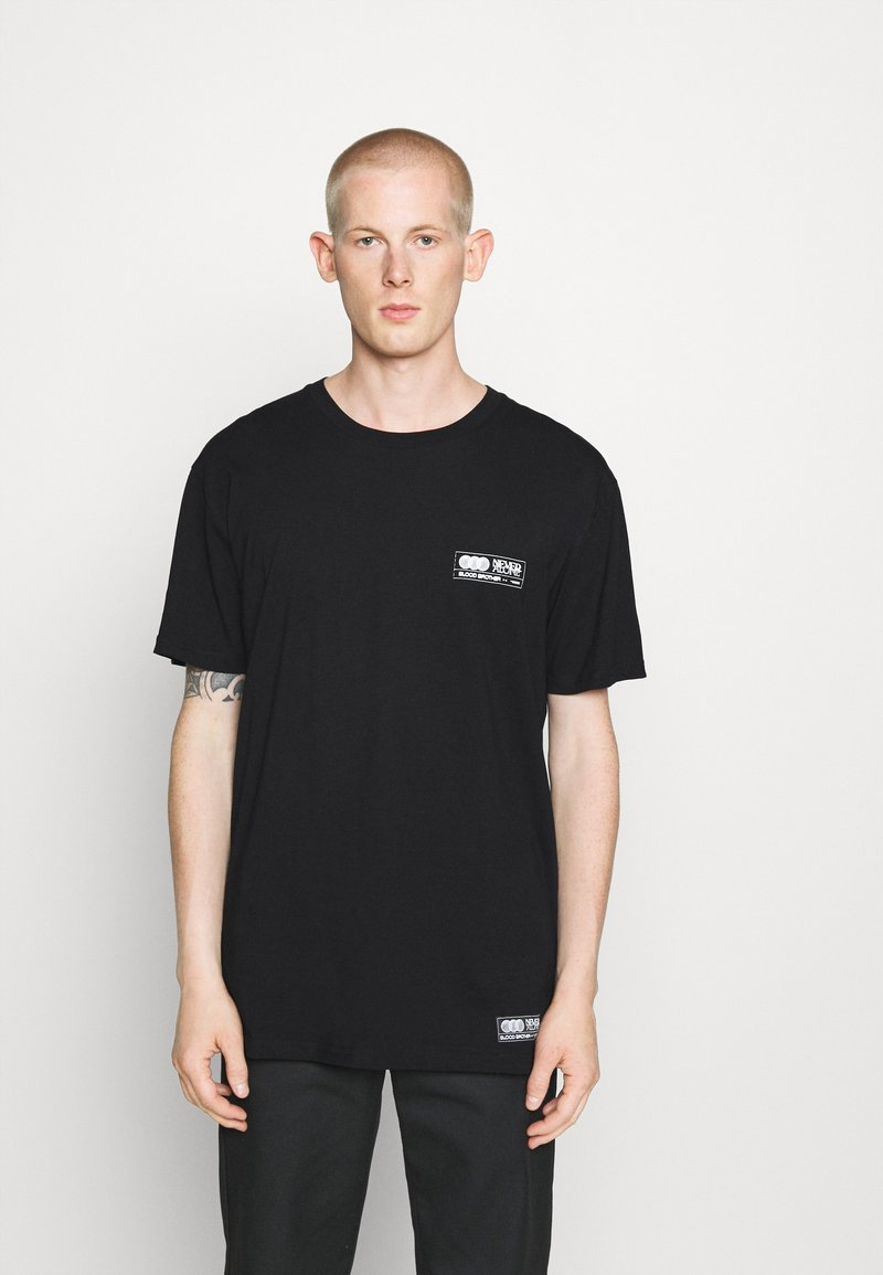 Blood Brother - TURNPIKE TEE - Print T-shirt - black