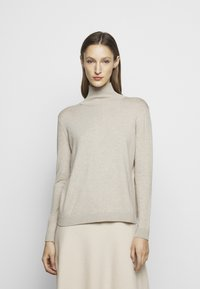 WEEKEND MaxMara - APE - Strikkegenser - mottled beige - 0