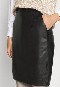 DESIGNERS REMIX - MARIE - Pencil skirt - black - 4