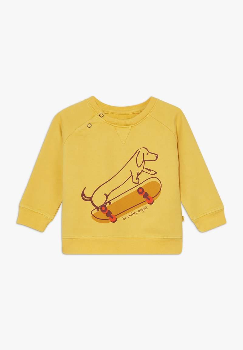 Smitten Organic - BABY ZGREEN - Sweatshirt - bamboo yellow