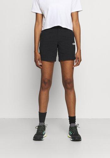 TANKEN SHORT - Sportovní kraťasy - black