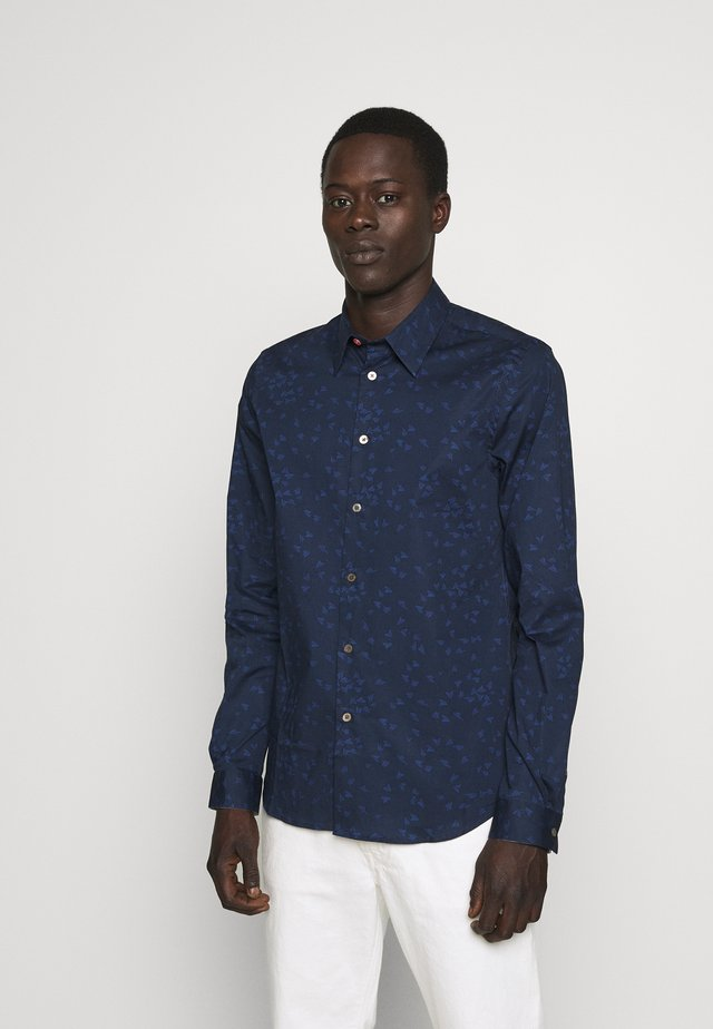 MENS TAILORED FIT SHIRT PAPER PLANE - Camisa - navy