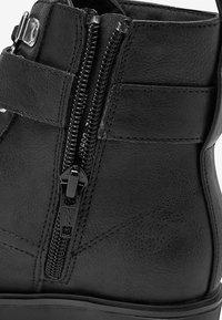 Next - Šněrovací kotníkové boty - black - 3