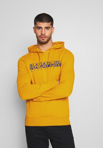 BOLANOS H - Hoodie - mango yellow