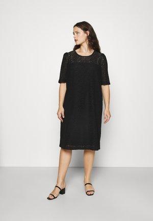 DELTA - Day dress - nero